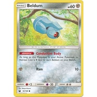 Beldum 92/168 SM Celestial Storm Common Pokemon Card NEAR MINT TCG