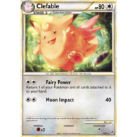 Clefable 1/95 Call of Legends Holo Rare Pokemon Card NEAR MINT TCG