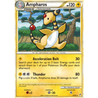 Ampharos 23/95 Call of Legends Rare Pokemon Card NEAR MINT TCG