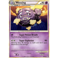 Weezing 38/95 Call of Legends Rare Pokemon Card NEAR MINT TCG