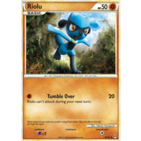 Riolu 50/95 Call of Legends Uncommon Pokemon Card NEAR MINT TCG