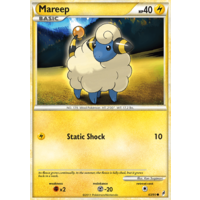 Mareep 63/95 Call of Legends Common Pokemon Card NEAR MINT TCG