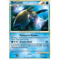 Relicanth 69/95 Call of Legends Common Pokemon Card NEAR MINT TCG