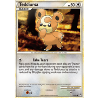 Teddiursa 73/95 Call of Legends Common Pokemon Card NEAR MINT TCG