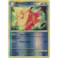 Clefable 1/95 Call of Legends Reverse Holo Rare Pokemon Card NEAR MINT TCG