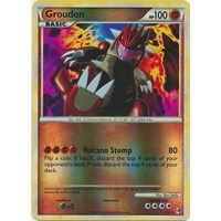 Groudon 6/95 Call of Legends Reverse Holo Rare Pokemon Card NEAR MINT TCG