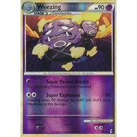 Weezing 38/95 Call of Legends Reverse Holo Rare Pokemon Card NEAR MINT TCG