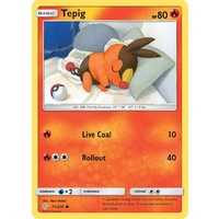 Tepig 31/236 SM Cosmic Eclipse Common Pokemon Card NEAR MINT TCG