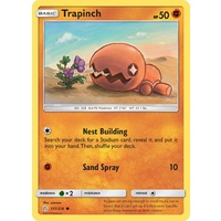 Trapinch 107/236 SM Cosmic Eclipse Common Pokemon Card NEAR MINT TCG