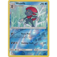 Weavile 44/236 SM Cosmic Eclipse Reverse Holo Rare Pokemon Card NEAR MINT TCG