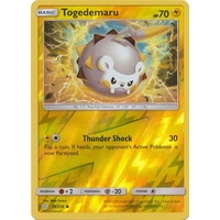 Togedemaru 74/236 SM Cosmic Eclipse Reverse Holo Uncommon Pokemon Card NEAR MINT TCG