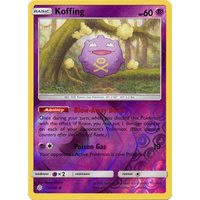 Koffing 76/236 SM Cosmic Eclipse Reverse Holo Common Pokemon Card NEAR MINT TCG