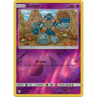 Golett 89/236 SM Cosmic Eclipse Reverse Holo Common Pokemon Card NEAR MINT TCG