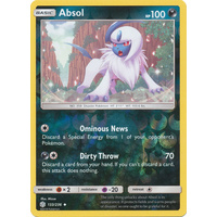 Absol 133/236 SM Cosmic Eclipse Reverse Holo Uncommon Pokemon Card NEAR MINT TCG