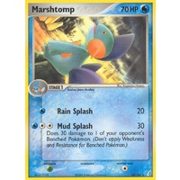 Marshtomp 24/100 EX Crystal Guardians Rare Pokemon Card NEAR MINT TCG
