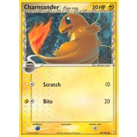 Charmander (Delta Species) 49/100 EX Crystal Guardians Common Pokemon Card NEAR MINT TCG