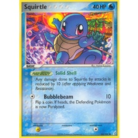 Squirtle 64/100 EX Crystal Guardians Common Pokemon Card NEAR MINT TCG