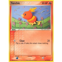 Torchic 65/100 EX Crystal Guardians Common Pokemon Card NEAR MINT TCG
