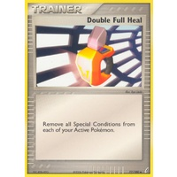 Double Full Heal 77/100 EX Crystal Guardians Uncommon Trainer Pokemon Card NEAR MINT TCG