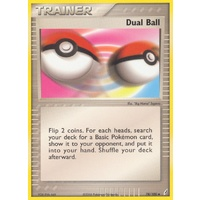 Dual Ball 78/100 EX Crystal Guardians Uncommon Trainer Pokemon Card NEAR MINT TCG