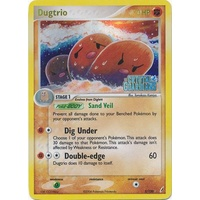 Dugtrio 5/100 EX Crystal Guardians Reverse Holo Rare Pokemon Card NEAR MINT TCG
