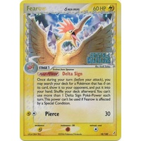 Fearow (Delta Species) 18/100 EX Crystal Guardians Reverse Holo Rare Pokemon Card NEAR MINT TCG