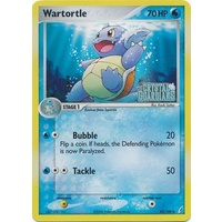 Wartortle 42/100 EX Crystal Guardians Reverse Holo Uncommon Pokemon Card NEAR MINT TCG
