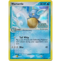 Wartortle 43/100 EX Crystal Guardians Reverse Holo Uncommon Pokemon Card NEAR MINT TCG