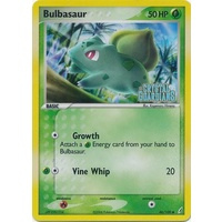 Bulbasaur 46/100 EX Crystal Guardians Reverse Holo Common Pokemon Card NEAR MINT TCG