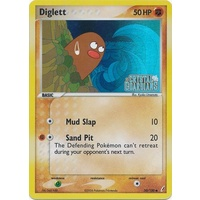 Diglett 50/100 EX Crystal Guardians Reverse Holo Common Pokemon Card NEAR MINT TCG