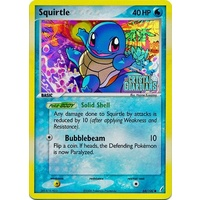 Squirtle 64/100 EX Crystal Guardians Reverse Holo Common Pokemon Card NEAR MINT TCG