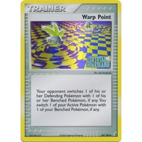 Warp Point 84/100 EX Crystal Guardians Reverse Holo Uncommon Trainer Pokemon Card NEAR MINT TCG