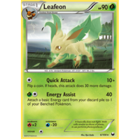 Leafeon 6/108 BW Dark Explorers Rare Pokemon Card NEAR MINT TCG