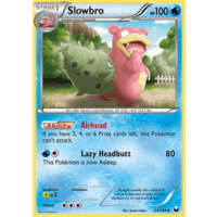Slowbro 24/108 BW Dark Explorers Uncommon Pokemon Card NEAR MINT TCG