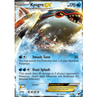 Kyogre EX 26/108 BW Dark Explorers Holo Ultra Rare Pokemon Card NEAR MINT TCG