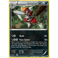 Bisharp 72/108 BW Dark Explorers Rare Pokemon Card NEAR MINT TCG