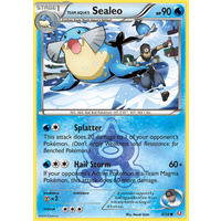 Team Aqua's Sealeo 4/34 XY Double Crisis Common Pokemon Card NEAR MINT TCG
