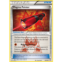 Magma Pointer 24/34 XY Double Crisis Uncommon Trainer Pokemon Card NEAR MINT TCG