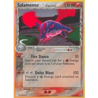 Salamence (Delta Species) 14/113 EX Delta Species Holo Rare Pokemon Card NEAR MINT TCG