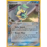 Vaporeon (Delta Species) 18/113 EX Delta Species Holo Rare Pokemon Card NEAR MINT TCG