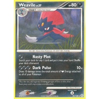 Weavile 40/130 DP Base Set Rare Pokemon Card NEAR MINT TCG