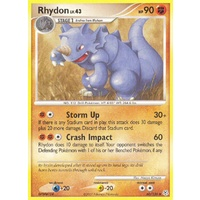 Rhydon 60/130 DP Base Set Uncommon Pokemon Card NEAR MINT TCG