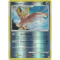 Noctowl 34/130 DP Base Set Reverse Holo Rare Pokemon Card NEAR MINT TCG