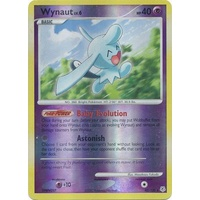 Wynaut 42/130 DP Base Set Reverse Holo Rare Pokemon Card NEAR MINT TCG
