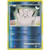Clefairy 77/130 DP Base Set Reverse Holo Common Pokemon Card NEAR MINT TCG