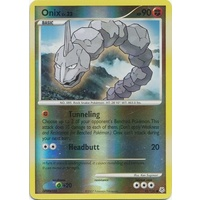 Onix 92/130 DP Base Set Reverse Holo Common Pokemon Card NEAR MINT TCG