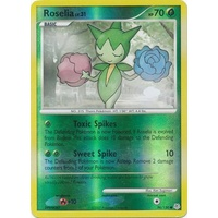 Roselia 96/130 DP Base Set Reverse Holo Common Pokemon Card NEAR MINT TCG