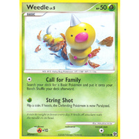 Weedle 93/106 DP Great Encounters Common Pokemon Card NEAR MINT TCG