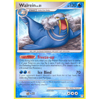 Walrein 39/123 DP Mysterious Treasures Rare Pokemon Card NEAR MINT TCG