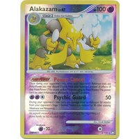 Alakazam 2/123 DP Mysterious Treasures Reverse Holo Rare Pokemon Card NEAR MINT TCG